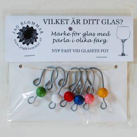 Vilket är ditt glas? Glasmarkör