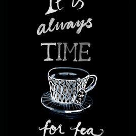 "Tryck ""Tea"""